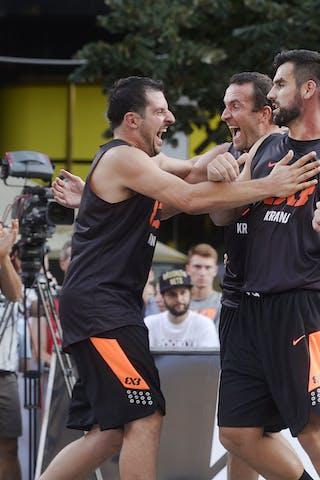 Belgrade v Kranj, 2015 WT Prague, Semi final, 9 August 2015