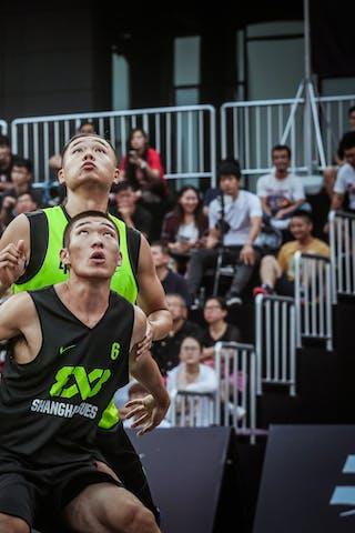 6 Shi Wei Zhang (CHN) - 4 Changlin Guo (CHN) - Zheng Zhou v Shanghai SUES, 2016 WT Beijing, Pool, 16 September 2016