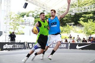 6 Thomas Garlepp (AUS) - 3 Bogdan Dragovic (SRB) - Pool 1 C 1: Zemun vs. Melbourne i-Athletic