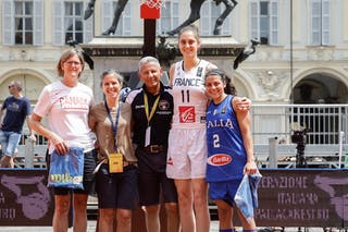 2 Raelin Marie D'alie (ITA) - 11 Ana Maria Filip (FRA)