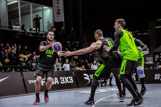 4 Lazar Rasic (SRB) - 4 Kārlis Lasmanis (LAT) - 6 Edgars Krumins (LAT) - 6 Nikola Vukovic (SRB)