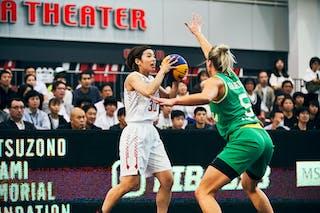 5 Maddie Garrick (AUS) - 30 Mio Shinozaki (JPN) - Game1_Pool B_Japan vs Australia