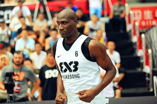 #6 Lee Benson, Team Wukesong, 2014 World Tour Beijing, 3x3game, 03 August, Day 2.