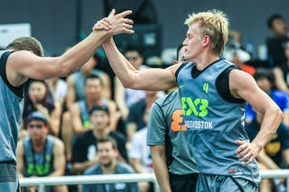 #4 Tcvetinskii Sergei, Team Vladivostok, 2014 World Tour Beijing, 3x3game, 2-3 August.
