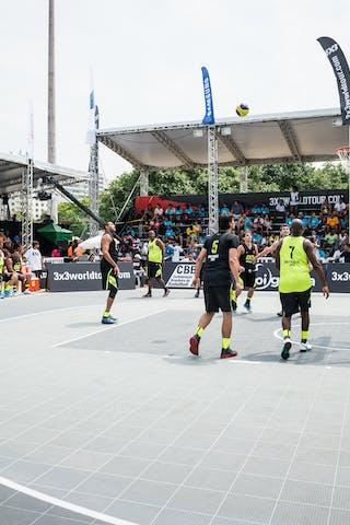 Court view, Team Sao Paulo, Team Sao Paulo DC, FIBA 3x3 World Tour Rio de Janeiro 2014, Day 2, 28. September.