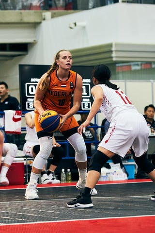18 Fleur Kuijt (NED) - Game5_Pool B_Japan vs Netherlands