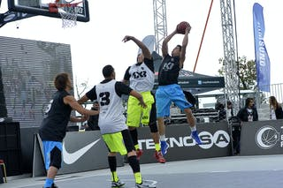 Nagoya (Japan) Caracas (Venezula) 2013 FIBA 3x3 World Tour final in Istanbul
