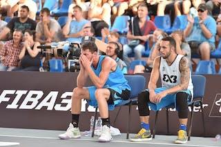 4 Sjoerd Van Vilsteren (NED) - 3 Ismar Do Vale Neto (BRA) - São Paulo DC v Amsterdam, 2016 WT Debrecen, Pool, 7 September 2016