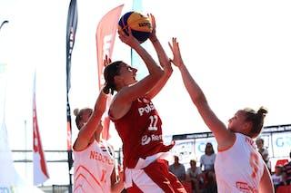 11 Jill Bettonvil (NED) - 9 Esther Fokke (NED) - 11 Aldona Morawiec (POL)