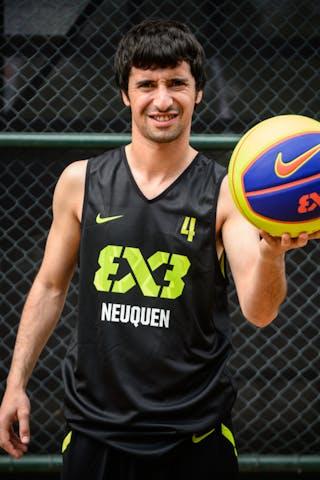 #4 Cordero Matias, Team Neuquen, FIBA 3x3 World Tour Rio de Janeiro 2014, 27-28 September.