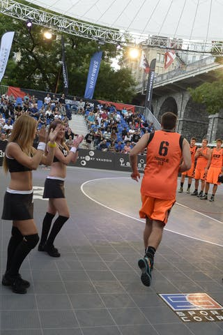 #6 Kavgic Adin, Team Trbovlje, FIBA 3x3 World Tour Lausanne 2014, day 1, 29. August.