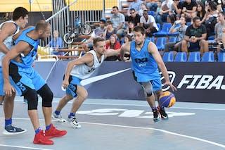 3 Toni Mindoljevic (CRO) - 3 Eddy Steiner (FRA) - Bordeaux v Split, 2016 WT Debrecen, Pool, 7 September 2016