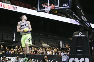 #5 Lieffers Michael, Team Saskatoon, dunk contest, FIBA 3x3 World Tour Final Tokyo 2014, 11-12 October.