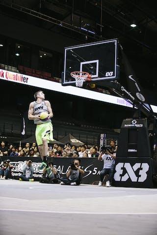 #5 Lieffers Michael, Team Saskatoon, dunk contest, FIBA 3x3 World Tour Final Tokyo 2014, 11-12 October.