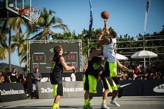 #5 Caracas (Venezuela) Fortaleza (Brazil) 2013 FIBA 3x3 World Tour Rio de Janeiro