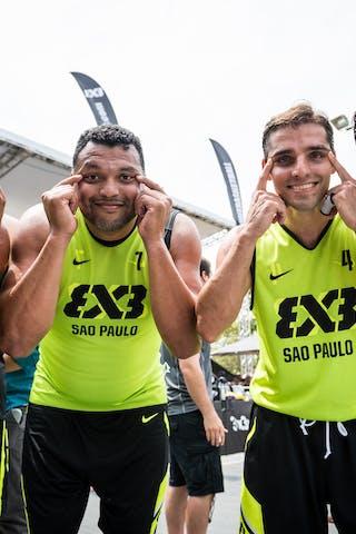 Team Sao Paulo, FIBA 3x3 World Tour Rio de Janeiro 2014, Day 2, 28. September.