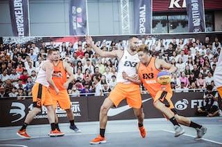 6 Dejan Majstorovic (UAE) - 4 Marko Zdero (UAE) - 7 Liu Yongjie (CHN) - 5 Chen Liu (CHN)