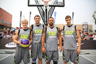Team Vladivostok, 2014 World Tour Beijing, 3x3game, 2-3 August.