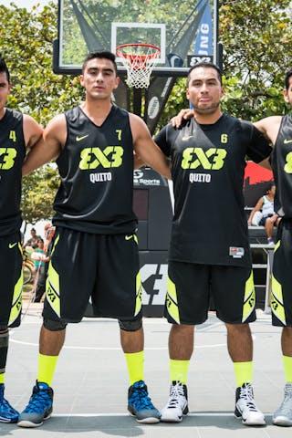 Team Quito, FIBA 3x3 World Tour Rio de Janeiro 2014, Day 2, 28. September.