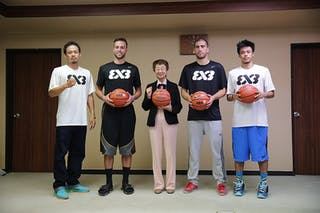 Griffin Derek, Dusan Domovic Bulut, Romeo Terrence Bill, FIBA 3x3 World Tour Tokyo Final 2014, 11-12 October.