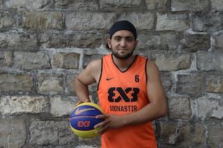 #6 Antar Mohammed, Team Monastir, FIBA 3x3 World Tour Lausanne 2014, 29-30 August.