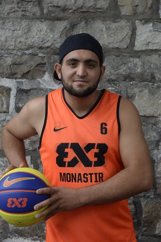 #6 Antar Mohammed, Team Monastir, FIBA 3x3 World Tour Lausanne 2014, 29-30 August.