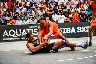 5 Nikola Vukovic (SRB) - 3 Michael Linklater (CAN) - Saskatoon v Zemun, 2016 WT Lausanne, Last 8, 27 August 2016