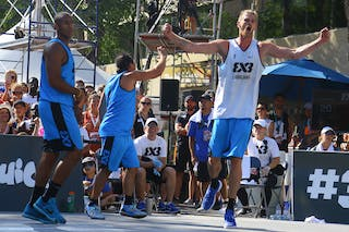 7 Blaz Cresnar (SLO) - Ljublijana vs Saskatoon in the FIBA 3x3 World Tour Saskatoon 2017 final