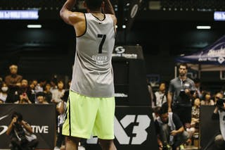 #7 King-Stockton Marcus, Team Denver, FIBA 3x3 World Tour Final Tokyo 2014, 11-12 October.