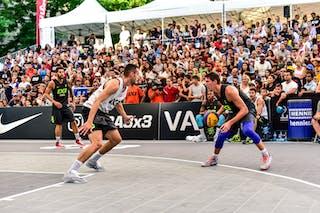 2 Gionata Zampolli (ITA) - 3 Andrea Negri (ITA) - 4 Marko Brankovic (SRB) - Liman v Pavia, 2016 WT Lausanne, Last 8, 27 August 2016