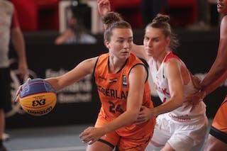 4 Anna Pawłowska (POL) - 24 Myrthe Den Heeten (NED)
