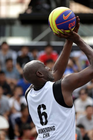 #6 Lee Benson, Team Wukesong, FIBA 3x3 World Tour Beijing 2014, 2-3 August.