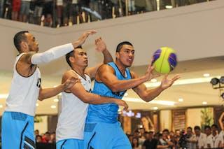 Haku Anamata, Team Auckland, 2014 World Tour Manila, 3x3, 20. July.