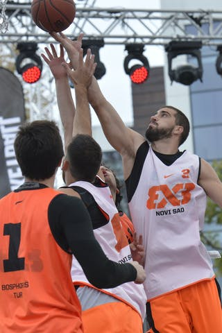 #3 Novi Sad (Serbia) Bosphorus (Turkey)  2013 FIBA 3x3 World Tour final in Istanbul