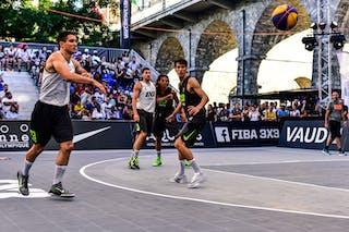 5 Eren Dekan Bayraktar (TUR) - 3 Yunus Yurttagul (TUR) - 5 Aleksandar Ratkov (SRB) - 3 Stefan Stojačić (SRB) - Liman v Manisa, 2016 WT Lausanne, Pool, 26 August 2016