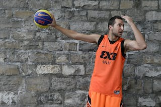 #5 Marin Hrvoje, Team Split, FIBA 3x3 World Tour Lausanne 2014, 29-30 August.