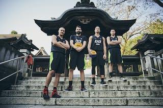 6 Stefan Kojic (SRB) - 7 Maksim Kovacevic (SRB) - 5 Aleksandar Ratkov (SRB) - 3 Mihailo Vasic (SRB)