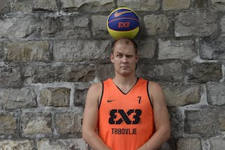 #7 Ovnik Gasper, Team Trbovlje, FIBA 3x3 World Tour Lausanne 2014, 29-30 August.