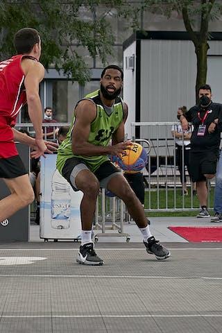FIBA 3x3, World Tour 2021, Mtl, Can, Esplanade Place des Arts. QF 3- Ub vs. Edmonton