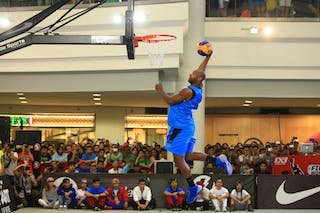 Sammy Monroe II-Team Doha Smart Dunk Qualifier