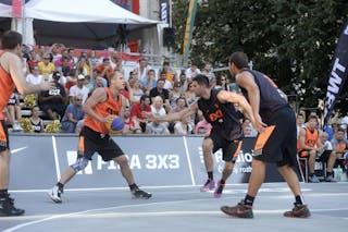 Trbovlje v Ub, 2015 WT Prague, Pool, 8 August 2015