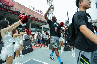 Lee Benson, Team Wukesong, 2014 World Tour Beijing, 3x3game, 2-3 August.