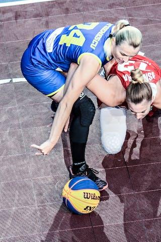 24 Ancuţa Stoenescu (ROU) - 13 Klaudia Sosnowska (POL)