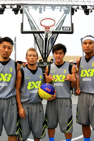 Team Nagoya, FIBA 3x3 World Tour Beijing 2014, 2-3 August.