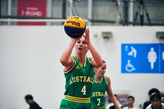 4 Bec Cole (AUS) - Game1_Pool B_Japan vs Australia