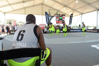 #6 Joseph Dowell, Team Louisville. 2014 World Tour Chicago. 3x3 Game.