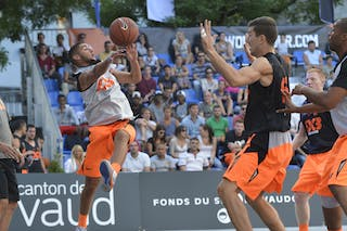 #6 Nice (France) 2013 FIBA 3x3 World Tour Masters in Lausanne