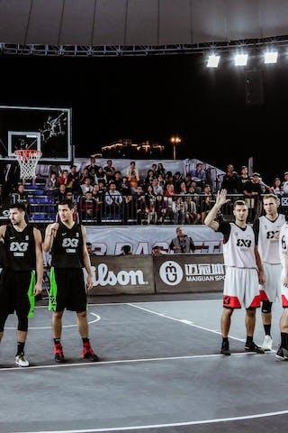 6 Marijus Uzupis (LTU) - 5 Aurelijus Pukelis (LTU) - 4 Paulius Beliavicius (LTU) - 3 šarūnas Vingelis (LTU) - 7 Maksim Kovacevic (SRB) - 5 Aleksandar Ratkov (SRB) - 6 Stefan Kojic (SRB) - 3 Mihailo Vasic (SRB)