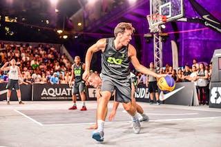 6 Nemanja Draskovic (SRB) - 4 Derrick Lang (SUI) - 3 Marco Lehmann (SUI) - Zemun v Lausanne, 2016 WT Lausanne, Pool, 26 August 2016