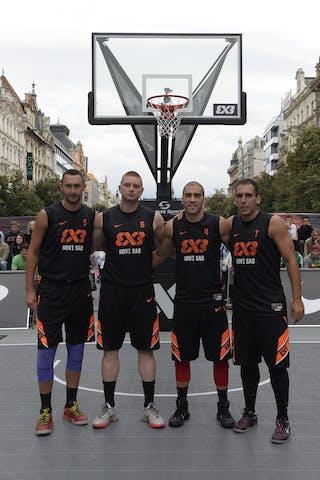 Team Novi Sad. 2014 World Tour Prague.